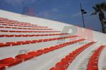 Пластмасови седалки за спортни обекти
